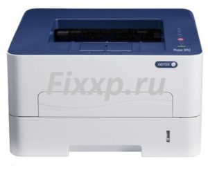 printer xerox phaser 3052